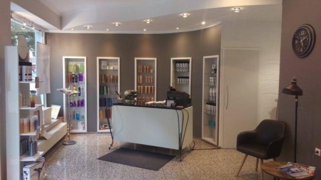 Der Herren & Damen Salon Interieur